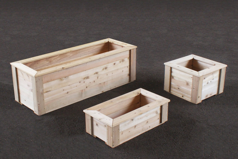 Waterproofing Planter Boxes : Project me tell a wood planter box waterproofing